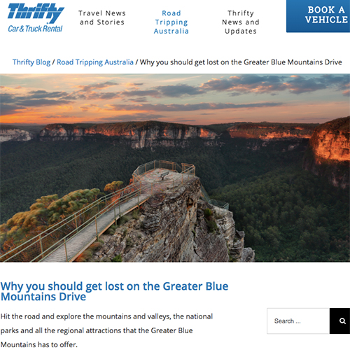 Why you should get lost on the Greater Blue Mountains Drive